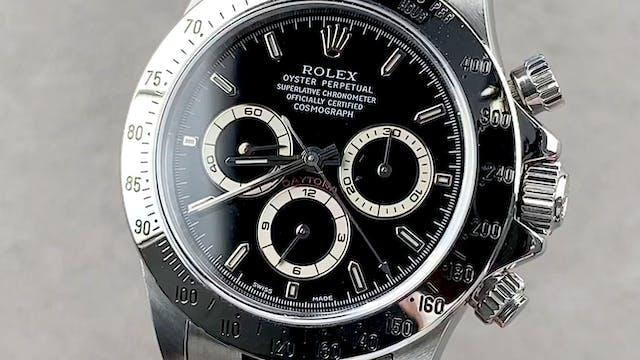 Rolex Cosmograph Daytona - Zenith Mov...