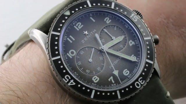 Zenith Pilot Chronometro Tipo CP 2 Fl...
