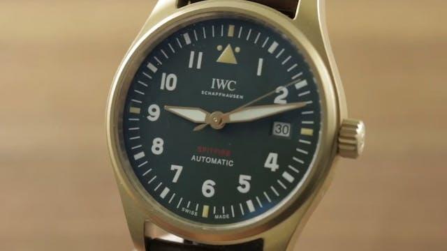IWC Pilots Watch Spitfire Bronze 3268...