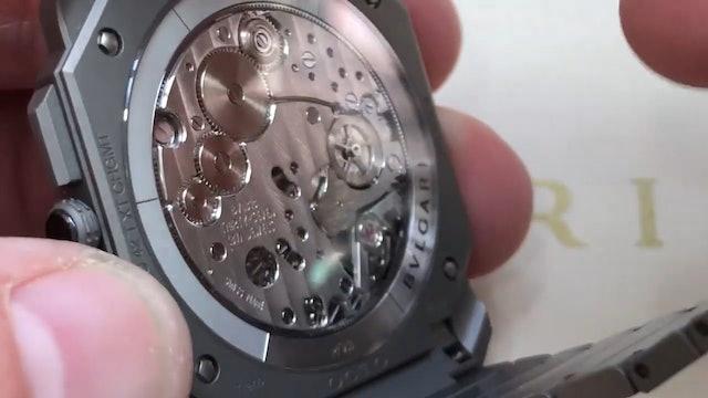 2019 Bulgari Octo Finissimo Chronograph GMT: Dubai Watch Week 2019