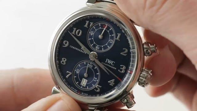 IWC Da Vinci Chronograph Flyback (IW3...