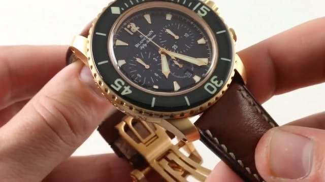 Blancpain Fifty Fathoms Flyback Chron...