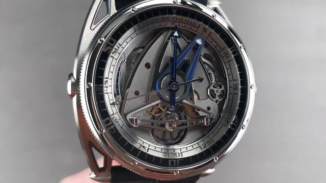 De Bethune DB28 GS Grand Bleu LED Dia...