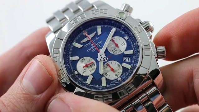 """Breitling Chronomat 44 """"Breitling For..."""