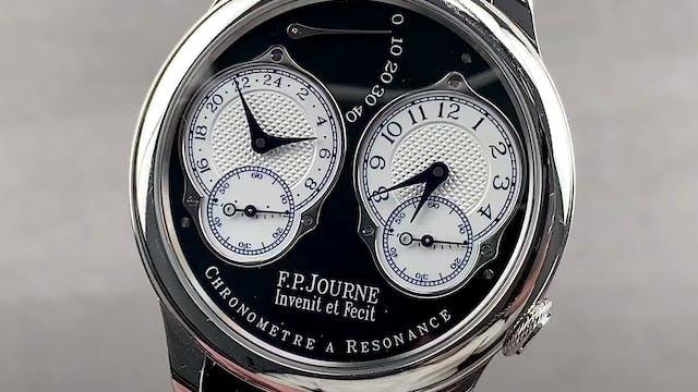 F.P. Journe Chronometre a Resonance B...