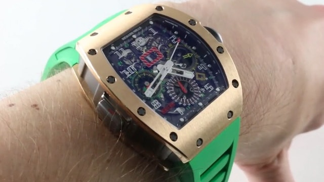 Richard Mille RM011 Flyback Chronograph (RM11-02) Review