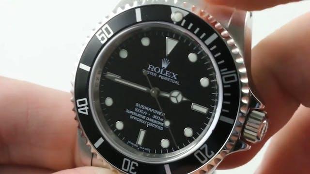 "Rolex Submariner ""No Date"" Chronomete..."