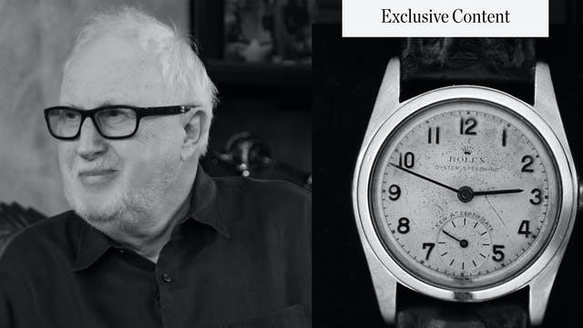 Rolex Scholar James Dowling Talks Vin...