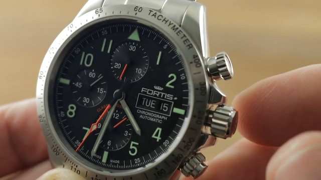 Fortis Classic Cosmonauts Chronograph (401.21.11) Fortis Watch Review