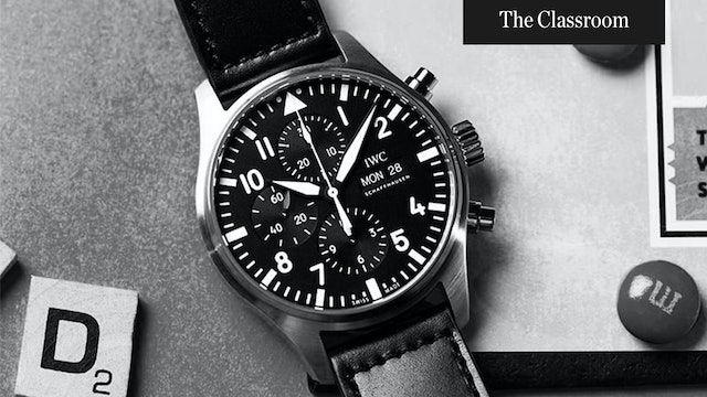 Different Types of Chronographs Explained