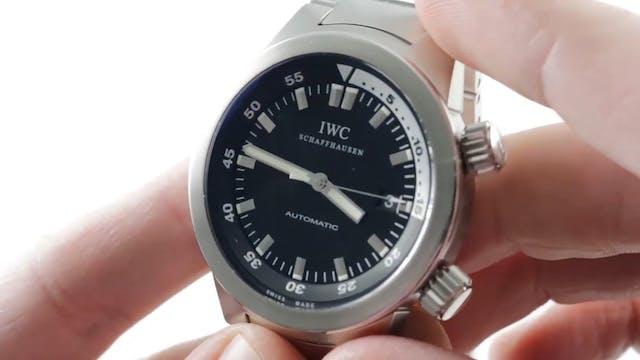 IWC Aquatimer Automatic Dive Watch IW...