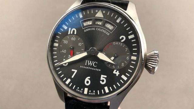 IWC Big Pilot Watch Annual Calendar IW5027-02