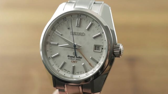 Grand Seiko Hi Beat GMT Asia Edition ...