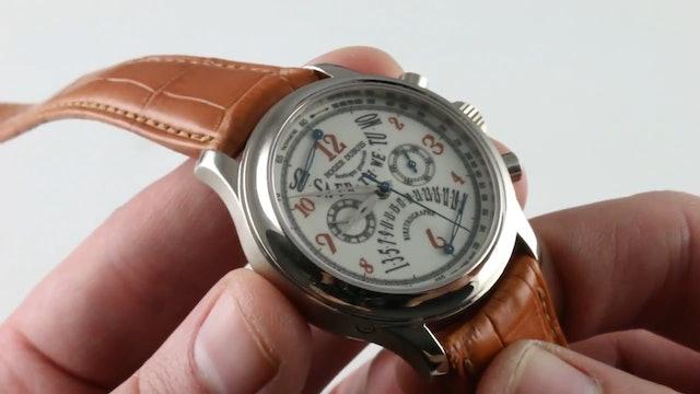 Roger Dubuis Hommage Bi Retrograde Chronograph (H40 5630 0 5.6) Review