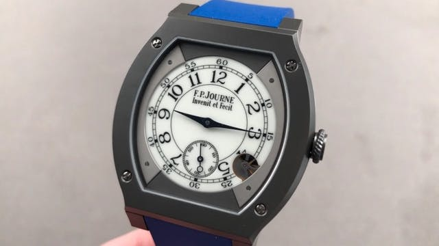 F.P. Journe Elegante 48mm Titalyt Review