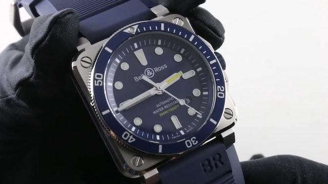 Bell & Ross Instrument BR 03 92 Diver Blue (Br0392 D Bu St Srb) Review