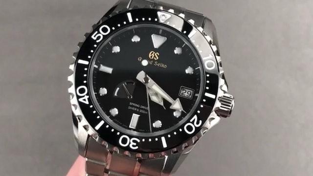 Grand Seiko Spring Drive Diver 200M SBGA231 Dive Watch Review