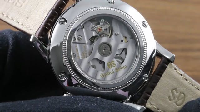 Grand Seiko Automatic GMT 3 Day SBGM2...