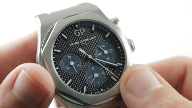 Girard Perregaux Laureato Chronograph...