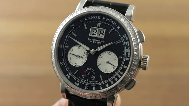 A. Lange & Sohne Datotgraph Up Down (...