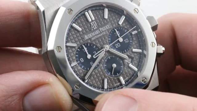 Audemars Piguet Royal Oak Platinum Ti...