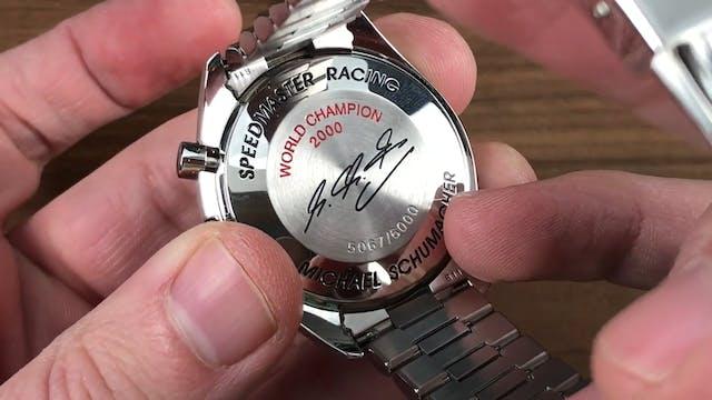 Omega Speedmaster Racing Michael Schu...
