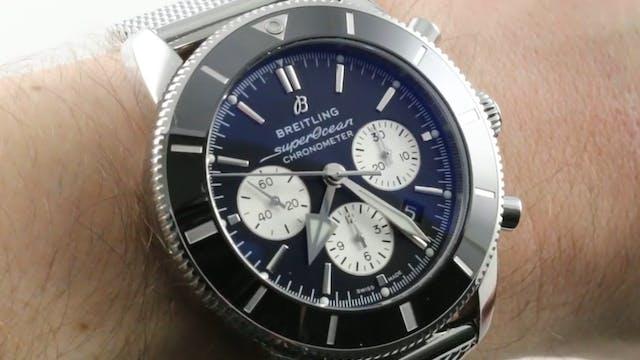 Breitling Superocean Heritage II B01 ...
