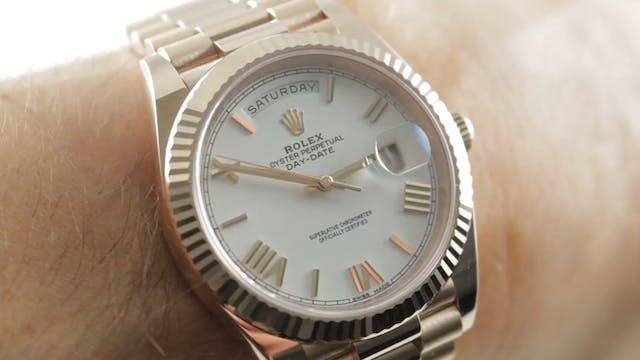 Rolex Day Date 40 Everose Gold 228235...