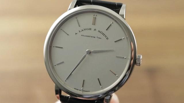A. Lange & Sohne Saxonia Thin (211.026) Dress Watch Review
