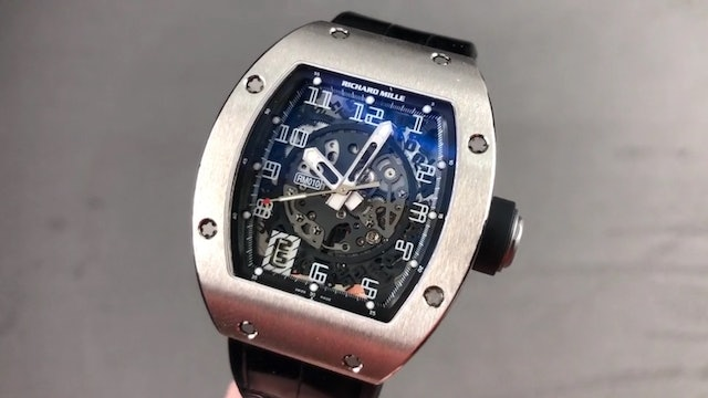 Richard Mille RM 010 White Gold RM010 AG WG Review