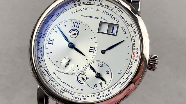 A. Lange & Sohne Lange 1 Timezone 25th Anniversary Limited Edition 116.066