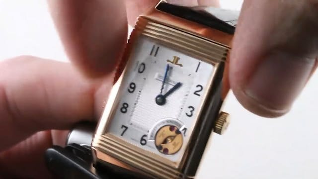 Jaeger Lecoultre Reverso Minute Repea...