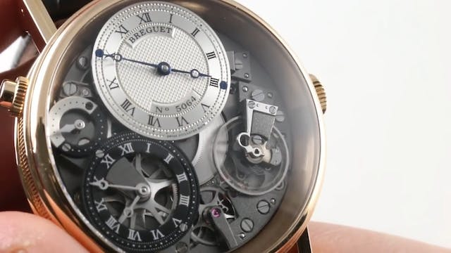 Breguet Tradition GMT 7067BR/G1/9W6 R...
