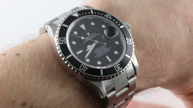"Rolex Submariner ""Tiffany Dial"" (Vint..."