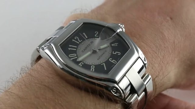 Cartier Roadster Automatic W62001V3 R...