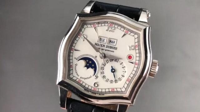 Roger Dubuis Sympathie White Gold Perpetual Calendar S37 5739 0 Review