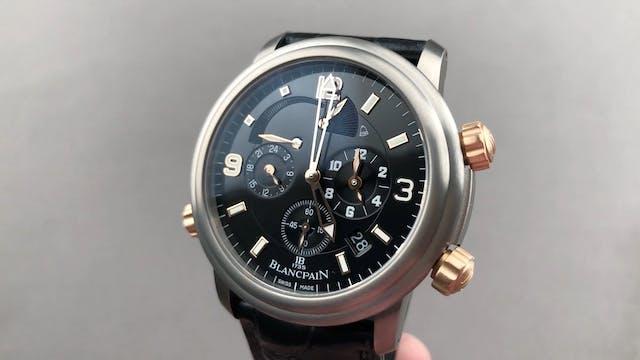 Blancpain Leman Reveil GMT 2041-12A30...