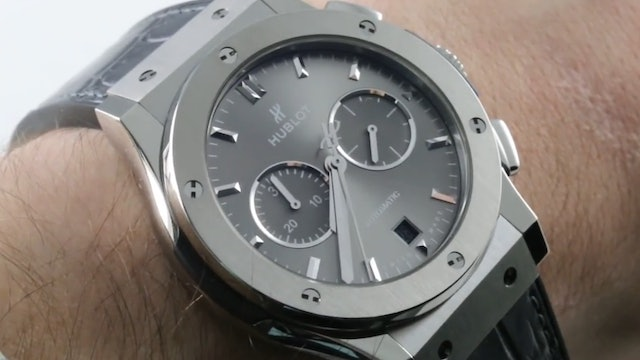 Hublot Classic Fusion Racing Grey Chronograph (541.NX.7070.LR) Review