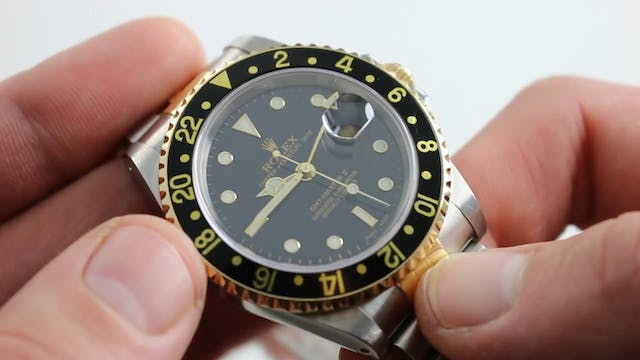 Rolex Two Tone GMT Master II Oyster P...