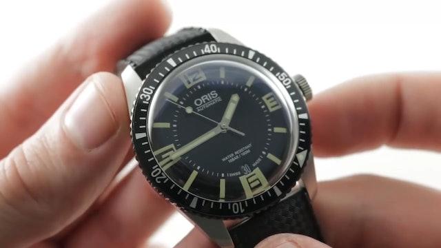 Oris Divers Sixty-Five 40mm (01 733 7707 4064 07 5 20 24) Review