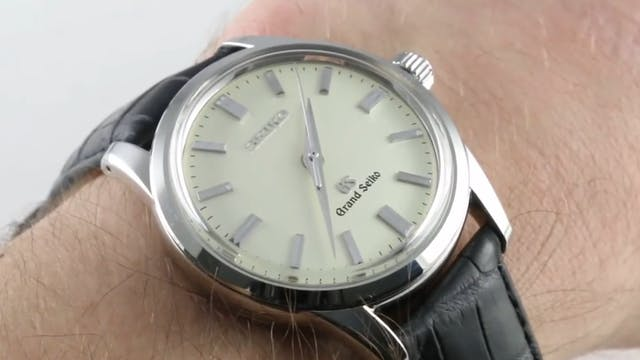 Grand Seiko Sbgw031 Review