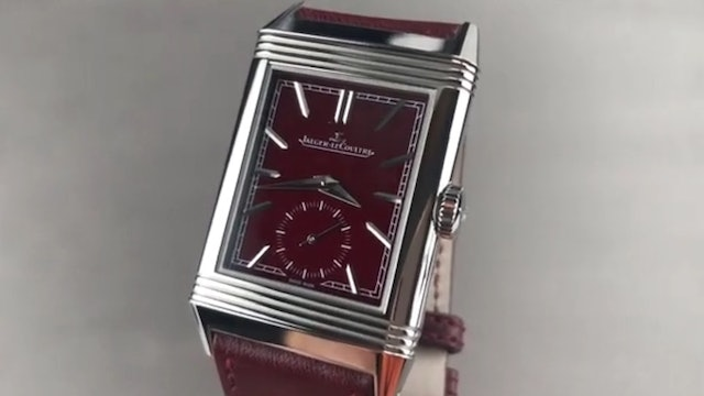 Jaeger Lecoultre Reverso Tribute Small Seconds (Q3978480) Review