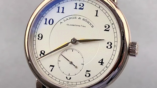 A. Lange & Sohne 1815 200th Anniversary F.A. Lange Limited Edition 236.050