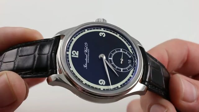 IWC Portugieser Eight Days 75th Anniv...