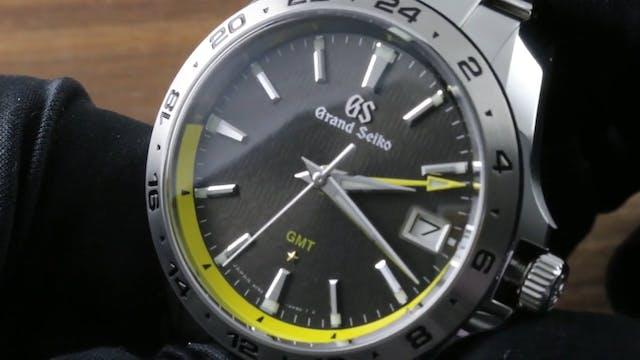 Grand Seiko 9F GMT Anniversary (SBGN0...