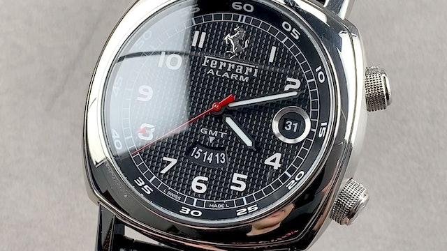 Panerai Ferrari Granturismo GMT Alarm FER 17