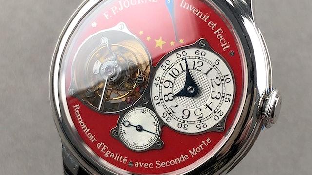 F.P. Journe China 2010 Tourbillon Souverain