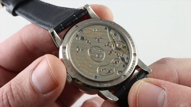 A. Lange & Sohne Lange 1 101.027 Review