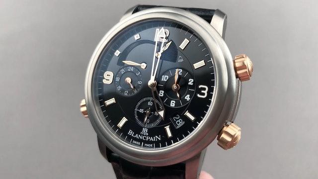 Blancpain Leman Reveil GMT 2041 12A30 64B
