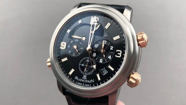 Blancpain Leman Reveil GMT 2041 12A30...
